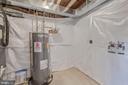 Washer & Dryer Hookup in Basement - 4412 RYNEX DR, ALEXANDRIA