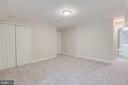 Huge Bedroom in Basement - 4412 RYNEX DR, ALEXANDRIA