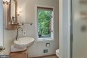 Main Level Full Bath with Stand Up Shower - 1505 N VILLAGE RD, RESTON