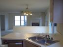 Kitchen opens to family room w/gas Fireplace - 5105 QUEENSBURY CIR, FREDERICKSBURG