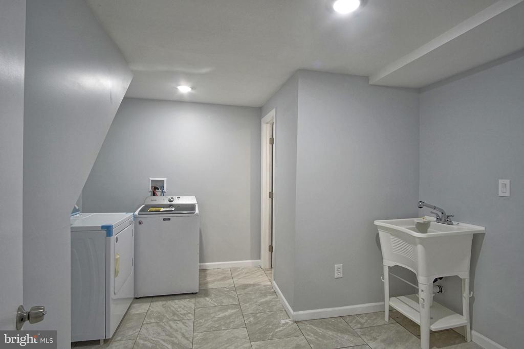 Laundry room, Brand New Washer and Dryer - 6511 ADAK ST, CAPITOL HEIGHTS