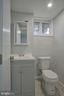 Powder room lower level - 6511 ADAK ST, CAPITOL HEIGHTS
