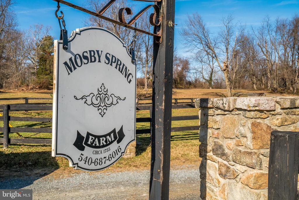 Mosby Spring farm - 36042 JOHN MOSBY HWY, MIDDLEBURG