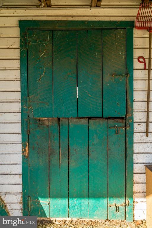 Iconic green doors - 36042 JOHN MOSBY HWY, MIDDLEBURG
