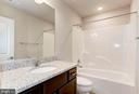 Secondary Bath with Optional Granite Countertops. - 004 BETHEL CHURCH RD, FREDERICKSBURG