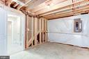 Unfinished Basement/Can finish if chosen early! - 004 BETHEL CHURCH RD, FREDERICKSBURG