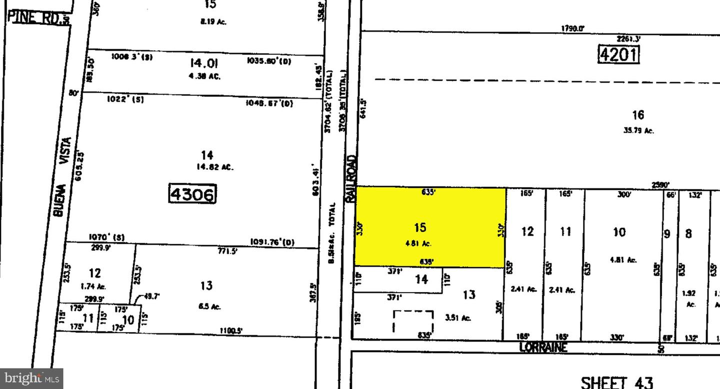 Land for Sale at Richland, New Jersey 08350 United States