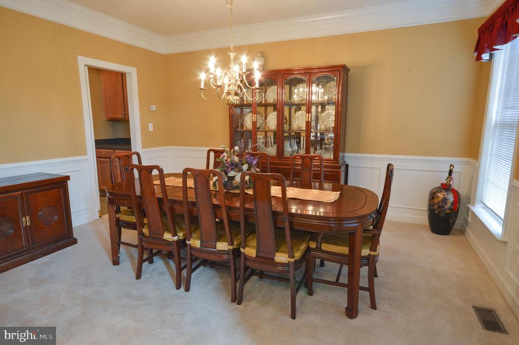 Formal Dining Room - 10163 BROADSWORD DR, BRISTOW