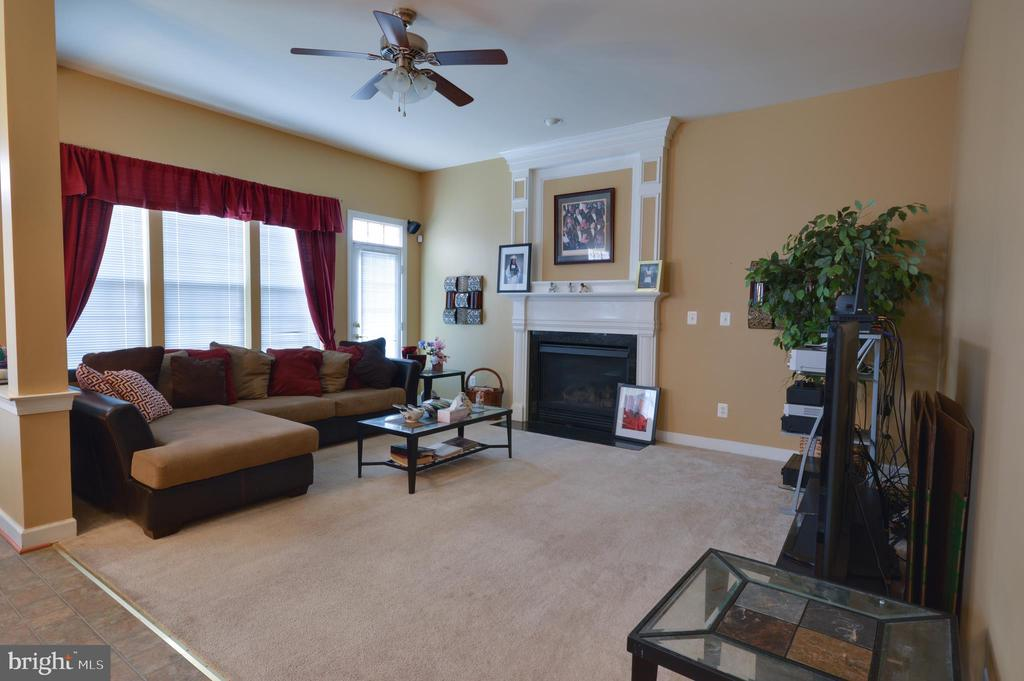 Family Room - 10163 BROADSWORD DR, BRISTOW