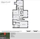 Upper Level Floor Plan - 20440 SWAN CREEK CT, STERLING