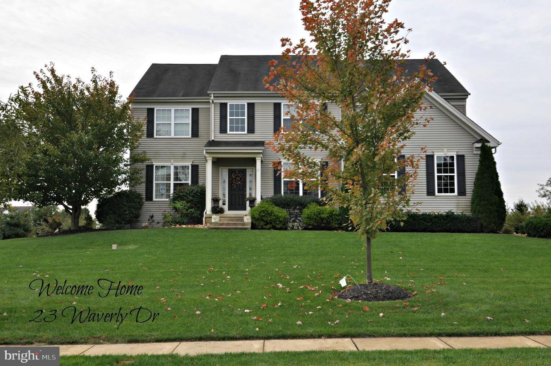 Maison unifamiliale pour l Vente à 23 WAVERLY Drive Columbus, New Jersey 08022 États-Unis