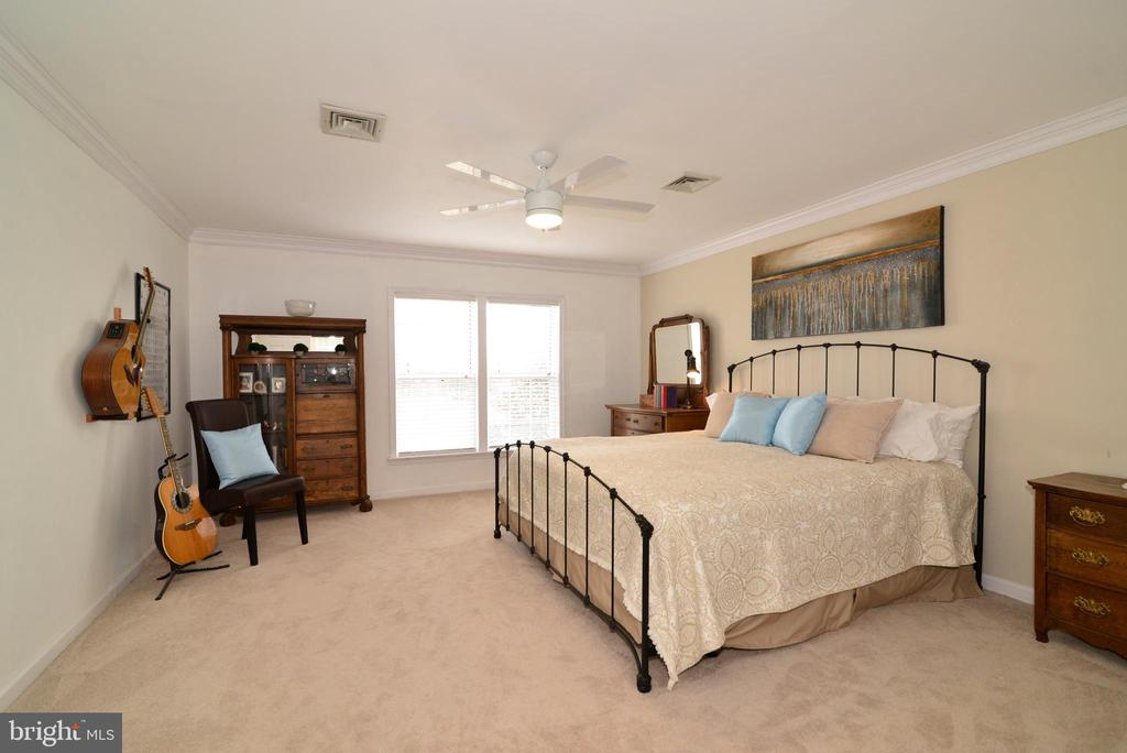 Spacious Master Beroom with views of the pond - 39520 SWEETFERN LN, LOVETTSVILLE