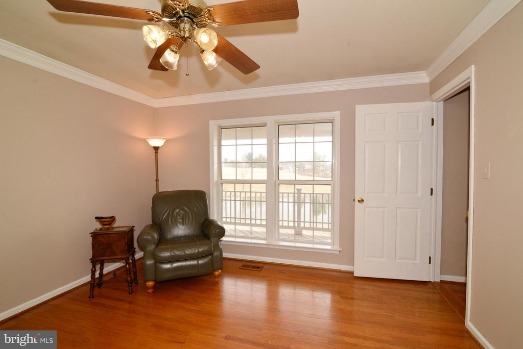 Study has views of the pond - 39520 SWEETFERN LN, LOVETTSVILLE