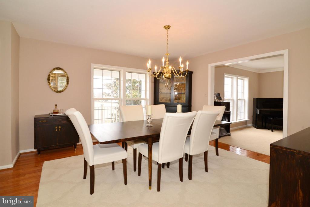 Large Dining room - 39520 SWEETFERN LN, LOVETTSVILLE