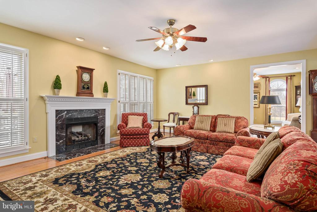 Fresh Paint, Gas Fireplace,Hardwood Floors - 35190 DORNOCH CT, ROUND HILL