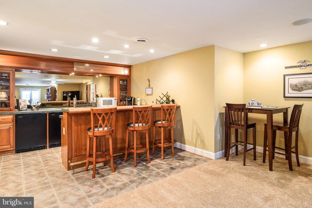 Lower Level Wet Bar with Granite - 35190 DORNOCH CT, ROUND HILL