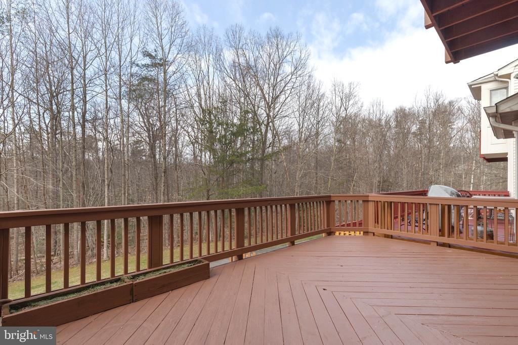 Large Deck on Main Level - 9087 GOLDEN SUNSET LN, SPRINGFIELD