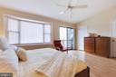 En Suite Master Bedroom with large walk-in-closet - 9087 GOLDEN SUNSET LN, SPRINGFIELD