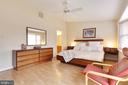 En Suite Master Bedroom on Upper Level - 9087 GOLDEN SUNSET LN, SPRINGFIELD