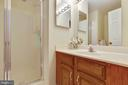 Full Bathroom on Lower Level - 9087 GOLDEN SUNSET LN, SPRINGFIELD