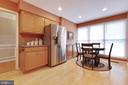 Large Kitchen with Stainless Appliances - 9087 GOLDEN SUNSET LN, SPRINGFIELD