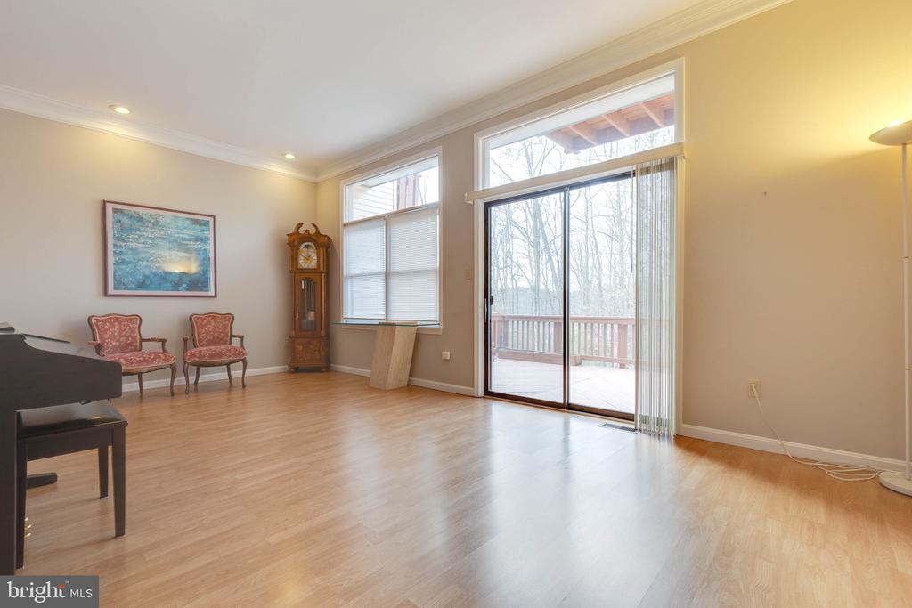 Expansive Family Room on Main Level - 9087 GOLDEN SUNSET LN, SPRINGFIELD