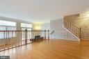 Expansive Dining Room flows into the Family Room - 9087 GOLDEN SUNSET LN, SPRINGFIELD