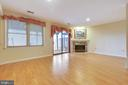Bright Walk-out Recreation Room on Lower Level - 9087 GOLDEN SUNSET LN, SPRINGFIELD