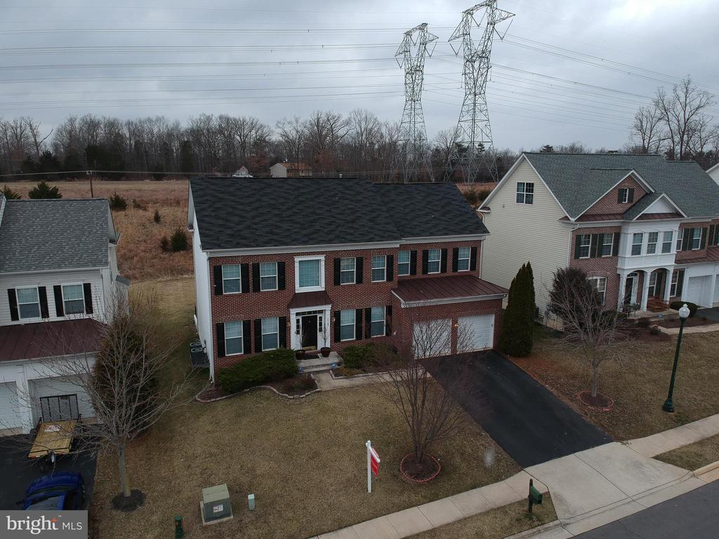 Aerial Front View - 10163 BROADSWORD DR, BRISTOW