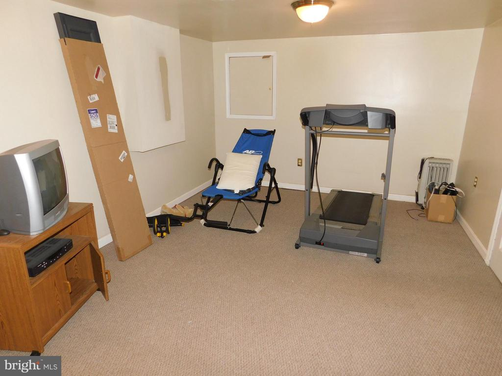 Rec/ exercise room in basement - 4814 TANGIER PL, SUITLAND