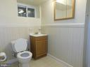Basement bathroom - 4814 TANGIER PL, SUITLAND