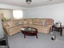 Sitting area in finished basement - 4814 TANGIER PL, SUITLAND