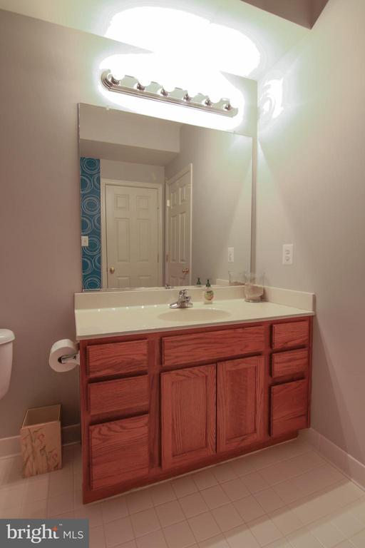 Lower Level Full Bathroom - 42277 PROVIDENCE RIDGE DR, CHANTILLY