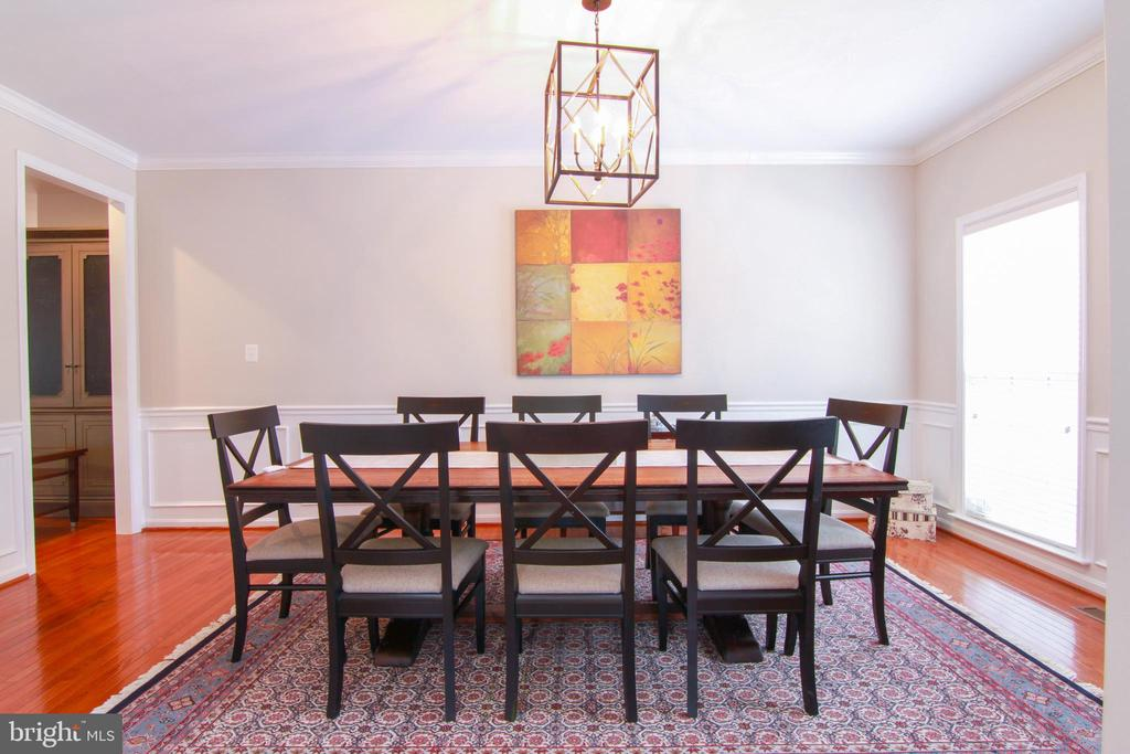 Dinning Room - 42277 PROVIDENCE RIDGE DR, CHANTILLY