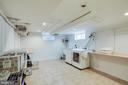 large laundry/ craft room - 5308 HUNTINGTON PKWY, BETHESDA