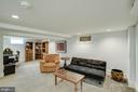 finished basement - 5308 HUNTINGTON PKWY, BETHESDA
