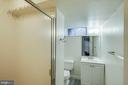 full bath in basement - 5308 HUNTINGTON PKWY, BETHESDA