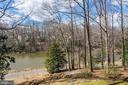Winter View of The Lake - 5322 BLACK OAK DR, FAIRFAX