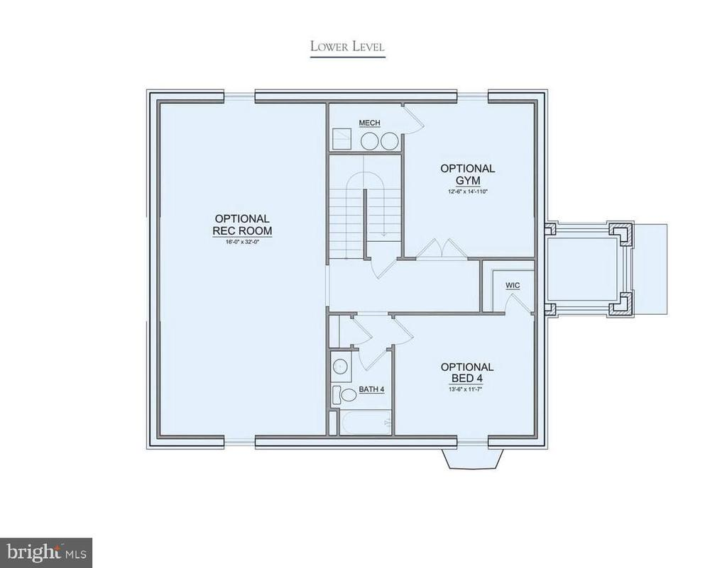Floor Plan - SAXTON DRIVE- EDGEWOOD, FREDERICK