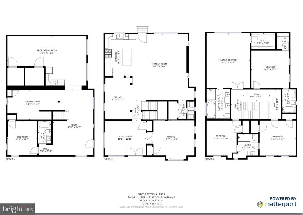Full floor plans for home - 1812 N BARTON ST, ARLINGTON