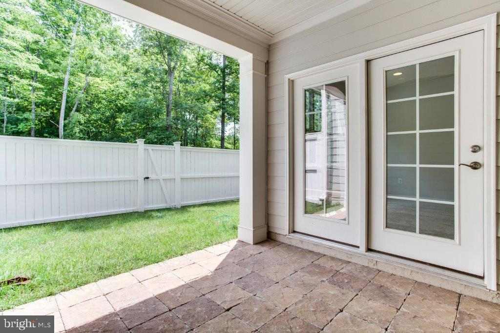 Patio with Fenced in rear yard - 61-7968 TURTLE CREEK CIR #61, GAINESVILLE