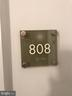 Unit 808 is on the 8th Floor Facing West - 11760 SUNRISE VALLEY DR #808, RESTON