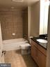 Bath Features a Tub as well as Granite Counter wit - 11760 SUNRISE VALLEY DR #808, RESTON