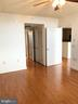 Bedroom is off the Living Area - 11760 SUNRISE VALLEY DR #808, RESTON