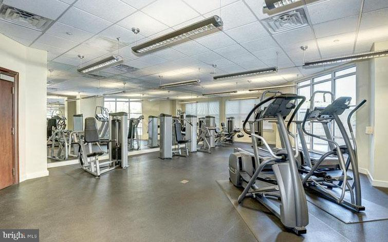 In-House Exercise Club Includes - 11760 SUNRISE VALLEY DR #808, RESTON
