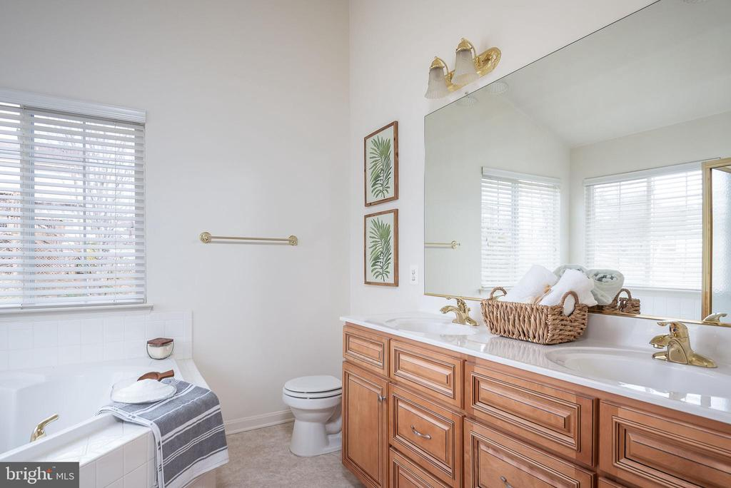 Owner's suite bath! - 17 HEATHERBROOK LN, STAFFORD