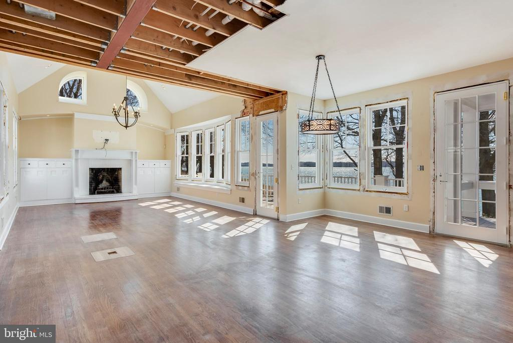 Great Room and Dining  Room - 1002 MELVIN RD, ANNAPOLIS