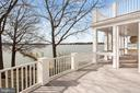 Waterside Deck and Covered Porch - 1002 MELVIN RD, ANNAPOLIS