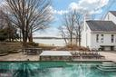 Waterviews from pool and hot tub - 1002 MELVIN RD, ANNAPOLIS