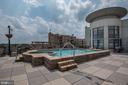 Rooftop Pool and Hot Tub - 1021 N GARFIELD ST #445, ARLINGTON